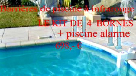 Alarme de piscine s curit et protection piscine for Alarme piscine infrarouge